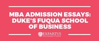 mba consulting mba admission essays fuqua mba admission essays