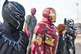 captain america civil war is a busy but uninventive blockbuster