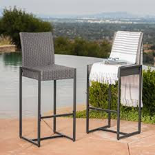 Latitude Run Mcdaniel Outdoor Wicker Bar U0026 Reviews  WayfairOutdoor Wicker Bar Furniture