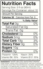 mangorita nutrition facts dandk for calories in a bud light decorations 12