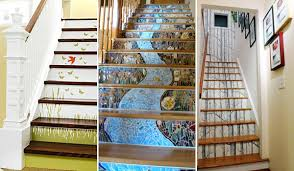 20 DIY Wallpapered Stair Risers Ideas To Give Stairs Some Flair