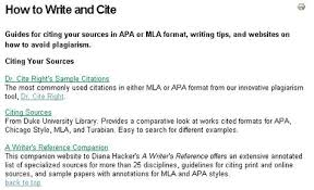 how to write mla citation cpcc libraries online tutorial