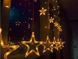 138 leds strobe light stars style decorative string light