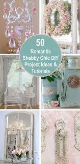 romantic shabby chic diy project ideas