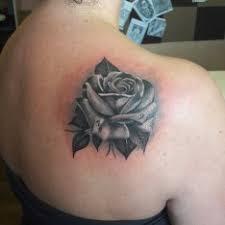 Tetování Květiny černobílá Tetování Tattoo