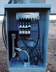 kb ranch blog archive wiring the solar panels done solar combiner box price at Combiner Box Wiring