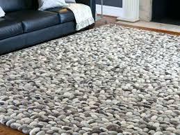 pebble rug s wool grey diy