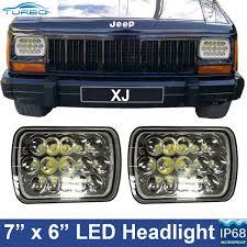 pair 6x7 45w cree led white jeep cherokee xj headlight replace productpicture0 productpicture1 productpicture2 productpicture3 productpicture4 productpicture5