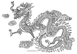 Small Picture Dragon Colouring Pages