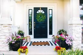 small front porch decorating ideas for