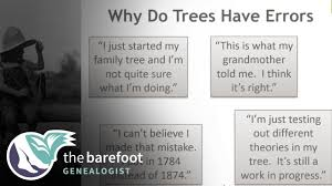 Dealing With Errors In Online Family Trees Ancestry Youtube