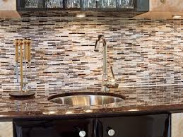 Metal Wall Tiles For Kitchen Classic Photo Of White Kitchen Cabinet Glass Metal Backsplash Tile