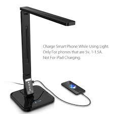 fugetek led desk lamp ftl798 exclusive model with recessed leds 5level brightness 4lighting modes touch control panel 1hour auto timer 14w led desk lamp97