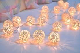 Cute String Lights For Bedroom Lighting