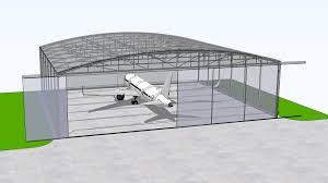 Aircraft Hangar Selection And Sizing Dimensions For Hangars