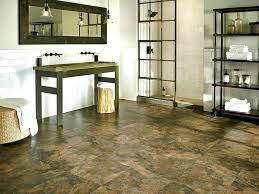 bathroom flooring luxury vinyl tile slate look dark brown ideas home harbor