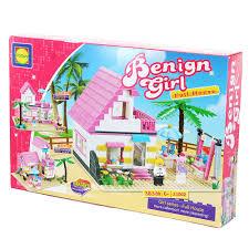 Lego Full House Otoys Benign Girl Full House Mainan Balok Lego 383 Pcs Pa