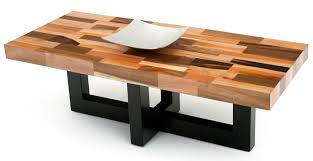 Wood Contemporary Coffee Table