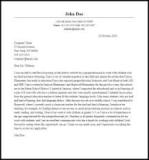 Cover Letter For Paraprofessional Gallery Website Cover Letter For