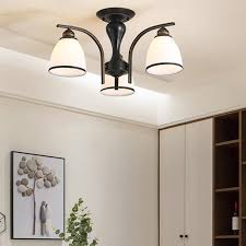 nordic wrought iron ceiling light