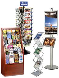 Free Standing Literature Display Stunning Literature Holders Brochure Magazine Book Displays