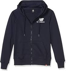 New Balance Men's <b>Essentials Fz Hoodie</b> Jacket: Amazon.de ...