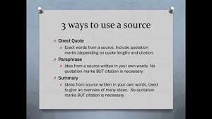 How to Do In Text Citations in a Research Paper   Synonym