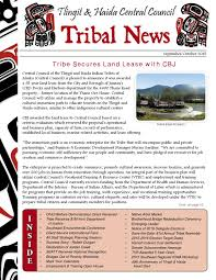 Sept-Oct 2015 Tribal News by Central Council Tlingit & Haida Indian Tribes  of Alaska - issuu