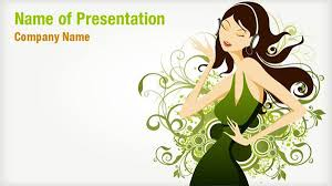 Music Powerpoint Template Abstract Music Powerpoint Templates Abstract Music
