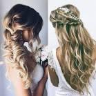 Прически на длинные волосы на свадьбу с плетением
