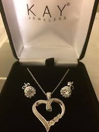 image is loading new kay jewelers diamond necklace earrings mother 039