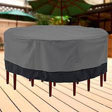 outdoor dining table cover inspiration patio furniture classic accessories veranda tall patio table and chair set cover