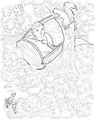 nursery drawing rock a bye baby nursery rhyme coloring page nursery drawing pictures pdf