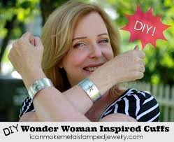 free tutorial with pictures feel like a super hero in these metal stamped cuffs free tutorial with pictures