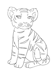 Small Picture Image for Baby tiger coloring pages ballons Pinterest Baby