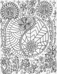 Best Hippie Coloring Pages 66 On Free Coloring Kids With Hippie