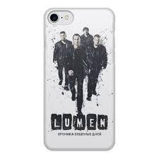Чехол для iPhone 7, объёмная печать Lumen <b>Хроника</b> бешеных ...