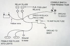 Headlights To Fog Light Relay Wiring Diagram Heavy Duty Truck Fog Lights