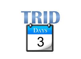 Trid Laws Trid What Triggers A New 3 Day Wait Loanlogics