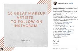 flawless magazine ranks toni malt as top 10 makeup artists to follow on insram