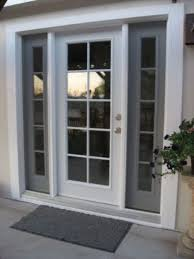 Replace Sliding Door With Regular French Doors Single Center Swing