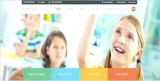 Kids School Website Template Kids School Website Template Specialization C Member