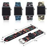 <b>Christmas</b> for Apple Watch Series Camouflage <b>Silicone Strap</b> ...