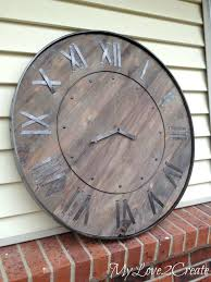 large wall clocks impressive decoration large wall clocks best rustic clock ideas on wooden large digital wall clocks australia