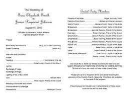 Wedding Programs Template Free Free Wedding Program Templates Wedding Program Template