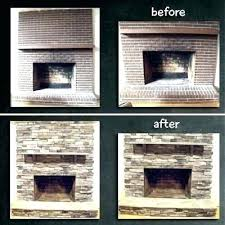 fireplace stone facade faux stone veneer over brick faux stone panels over brick fireplace stone veneer