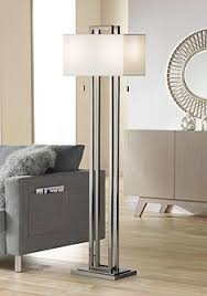 floor lamps in living room. Contemporary Living Possini Euro Design Double Tier Brushed Nickel Floor Lamp Throughout Lamps In Living Room Z