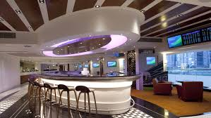 Latest Trends In Restaurant Design With Modern Ceiling Design And Luxury  Interior