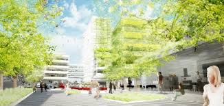 green office building. eco towers for hamburg by greeen architects green office building s