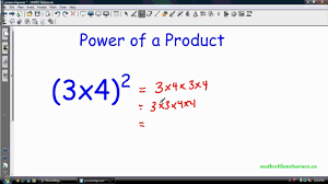 math laws math 9 exponent laws ii power of a power and more youtube